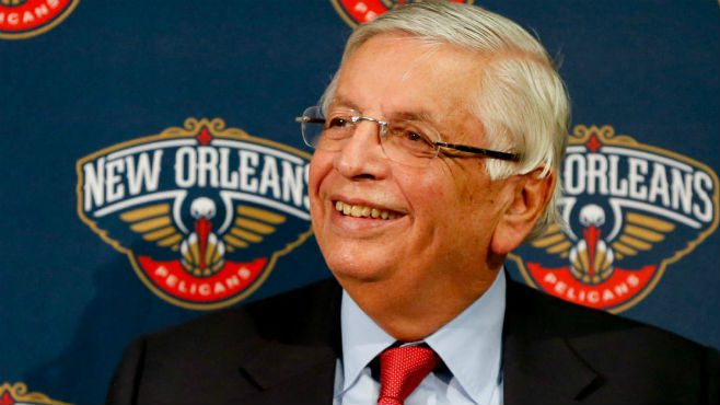 NBA Commissioner David Stern, 77, passed away on New Year's Day after suffering a brain hemorrhage. Photo courtesy of CBS Sports
