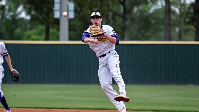 LSU Eunice's Jack Merrifield is one of two Bengals to earn NJCAA Division II Baseball ABCA/Rawlings Gold Glove awards on Wednesday. -- Photo courtesy of LSUE Athletics