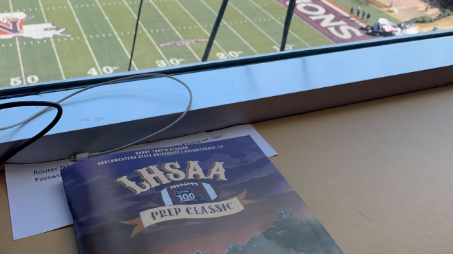 The LHSAA successfully held all nine football state championship games at Turpin Stadium on the campus of Northwestern State. -- Photo by Raymond Partsch III