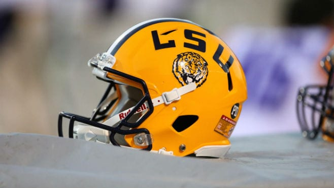 LSU dropped its second game in three weeks on Saturday with a 45-41 loss at Missouri. — Photo Courtesy of CBS Sports.