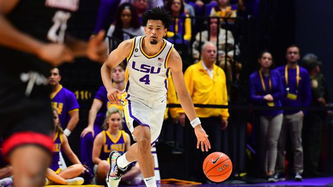 LSU's Skylar Mays has been named SEC Scholar-Athlete of the Year. — Photo courtesy of CBS Sports.