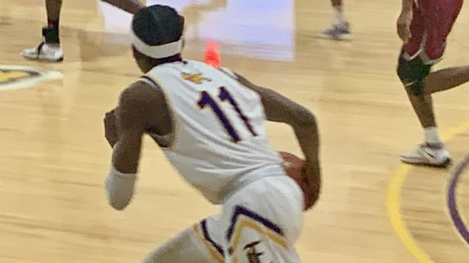 LSU Eunice guard and former St. Thomas More star Jonathan Cisse scored 29 points in his final game for the Bengals on Tuesday night. -- Photo by Raymond Partsch III