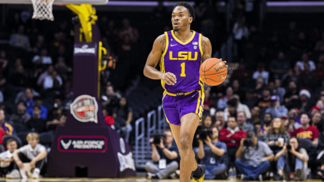 LSU point guard Javonte Smart has been named The Louisiana Sports Writers Association's Player of the Week. -- Photo courtesy of LSU Athletics