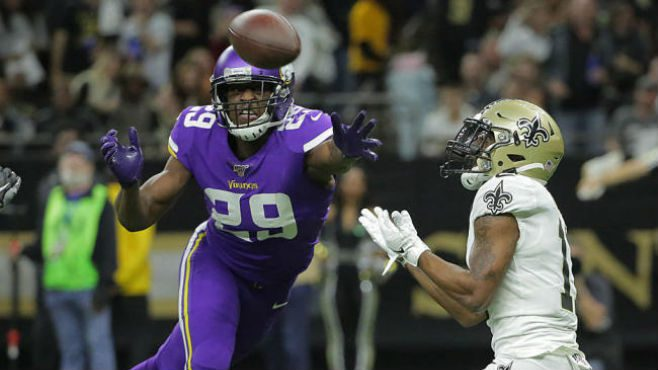 The New Orleans Saints fell to the Minnesota Vikings 26-20 in overtime on Sunday inside the Mercedes-Benz Superdome. — Photo courtesy of CBS Sports