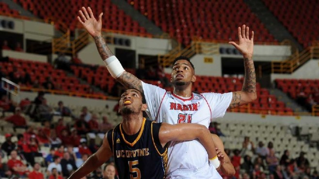 Former Louisiana Ragin' Cajun basketball star Shawn Long (No. 21) has been selected as the KBL Import Player MVP. -- Photo courtesy of Ragin' Cajuns Athletics