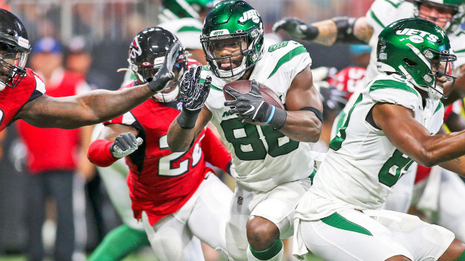 The New Orleans Saints have signed running back -wide receiver Ty Montgomery. — Photo courtesy of CBS Sports