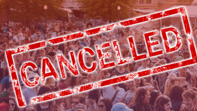 Festival International has been called off due to the threat of the coronavirus.